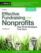Go to record Effective fundraising for nonprofits : real-world strategi...
