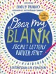 Go to record Dear my blank : secret letters never sent