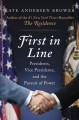 Go to record First in line : presidents, vice presidents, and the pursu...