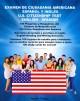 Go to record Examen de ciudadania americana : español y inglés = U.S. c...