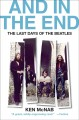 Go to record And in the end : the last days of the Beatles