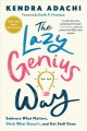 Go to record The lazy genius way : embrace what matters, ditch what doe...