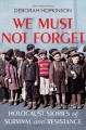 Go to record We must not forget : Holocaust stories of survival and res...