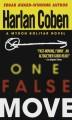 Go to record One false move : a Myron Bolitar novel